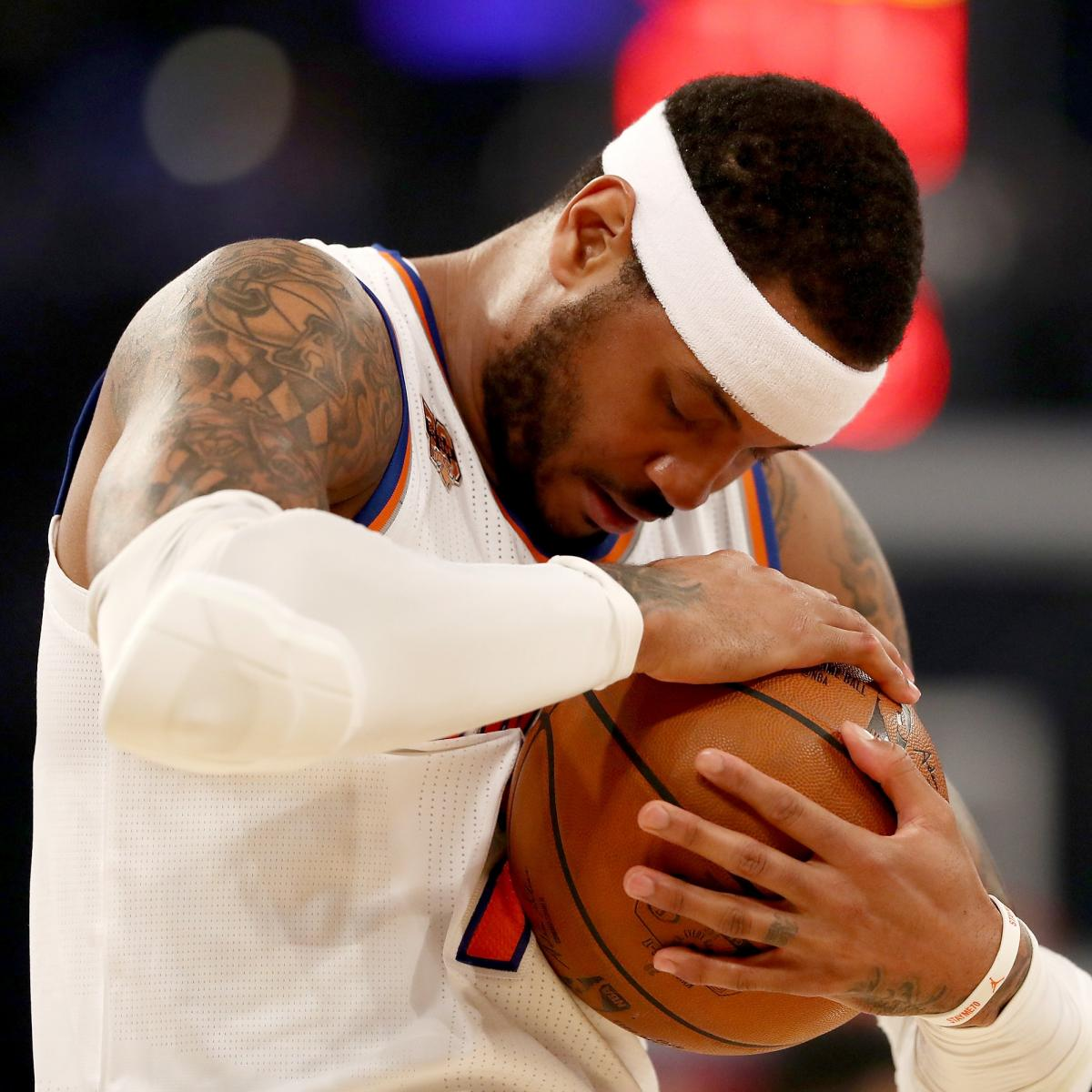 Carmelo Anthony Contract Buyout Not an Option for Knicks ...