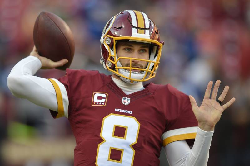 purchase cheap fc164 96d50 Kirk Cousins, Redskins Fail to Agree on Contract Despite ...