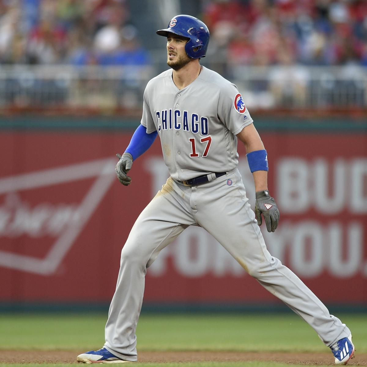 Kris Bryant Suffers Hand Injury After Being Hit by Pitch vs. Reds