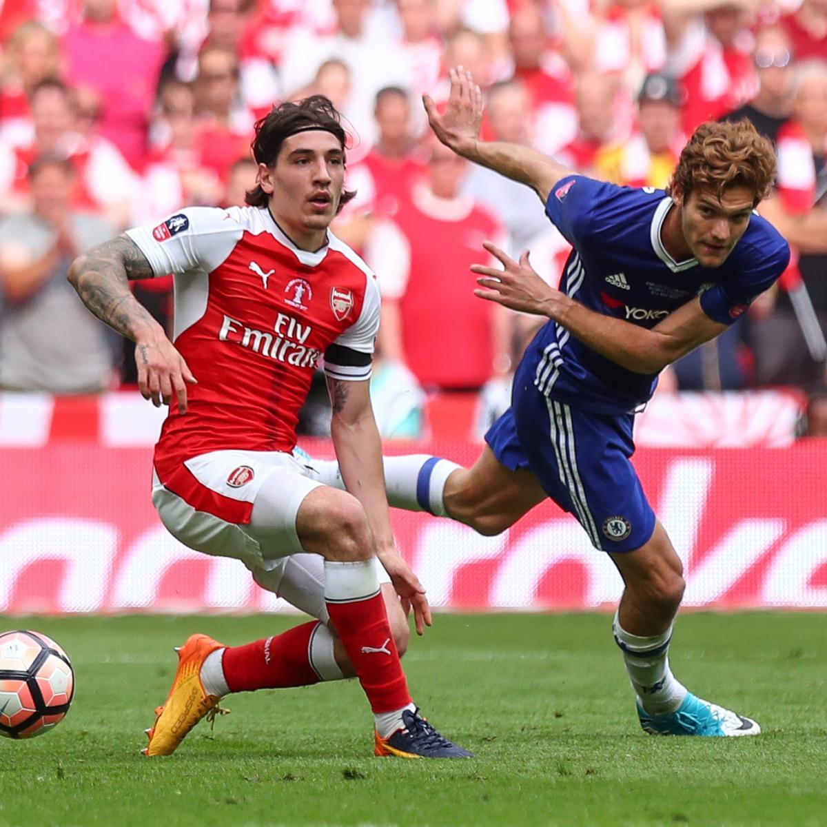 Arsenal vs. Chelsea: Live Stream, TV Info for 2017 Pre-Season Friendly ...