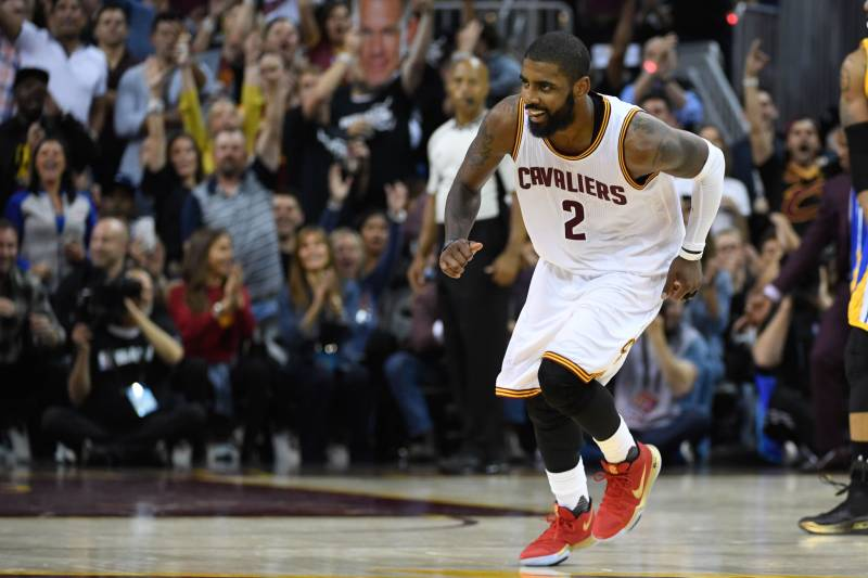 cheap for discount 7fe72 28fd2 June 9, 2017  Cleveland, OH, USA  Cleveland Cavaliers guard Kyrie Irving