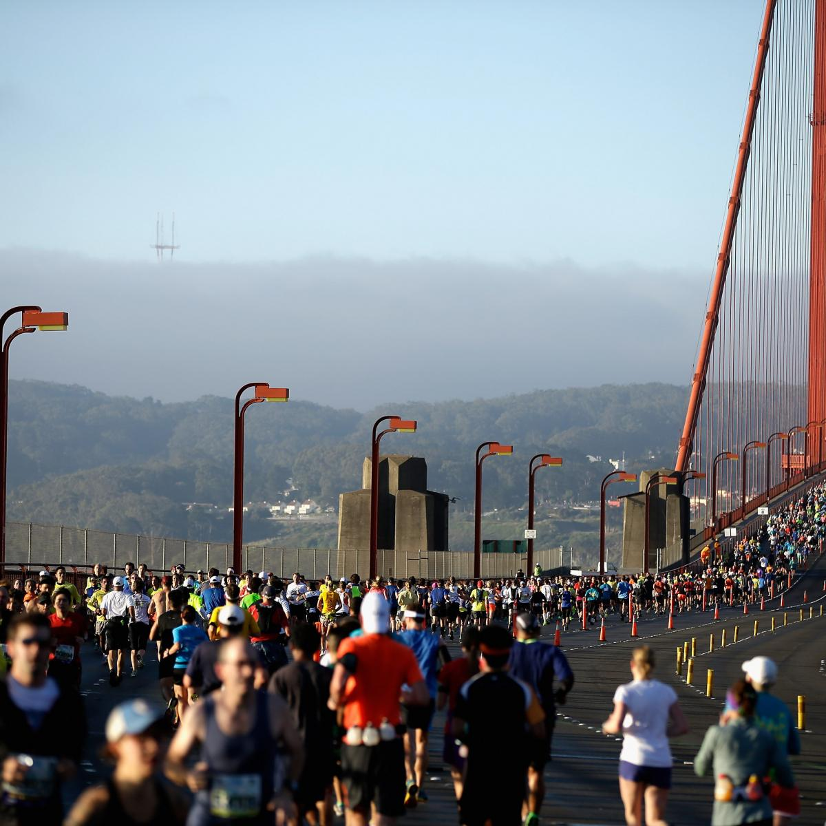 San Francisco Marathon Results 2017 Men S And Women S Top