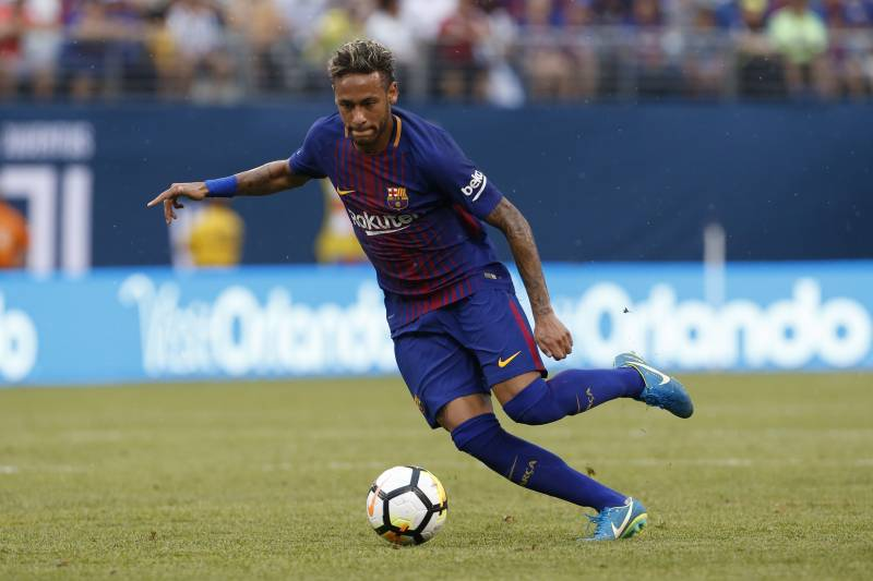 01753fd1518 IMAGE DISTRIBUTED FOR INTERNATIONAL CHAMPIONS CUP - FC Barcelona s Neymar  controls the ball during a match