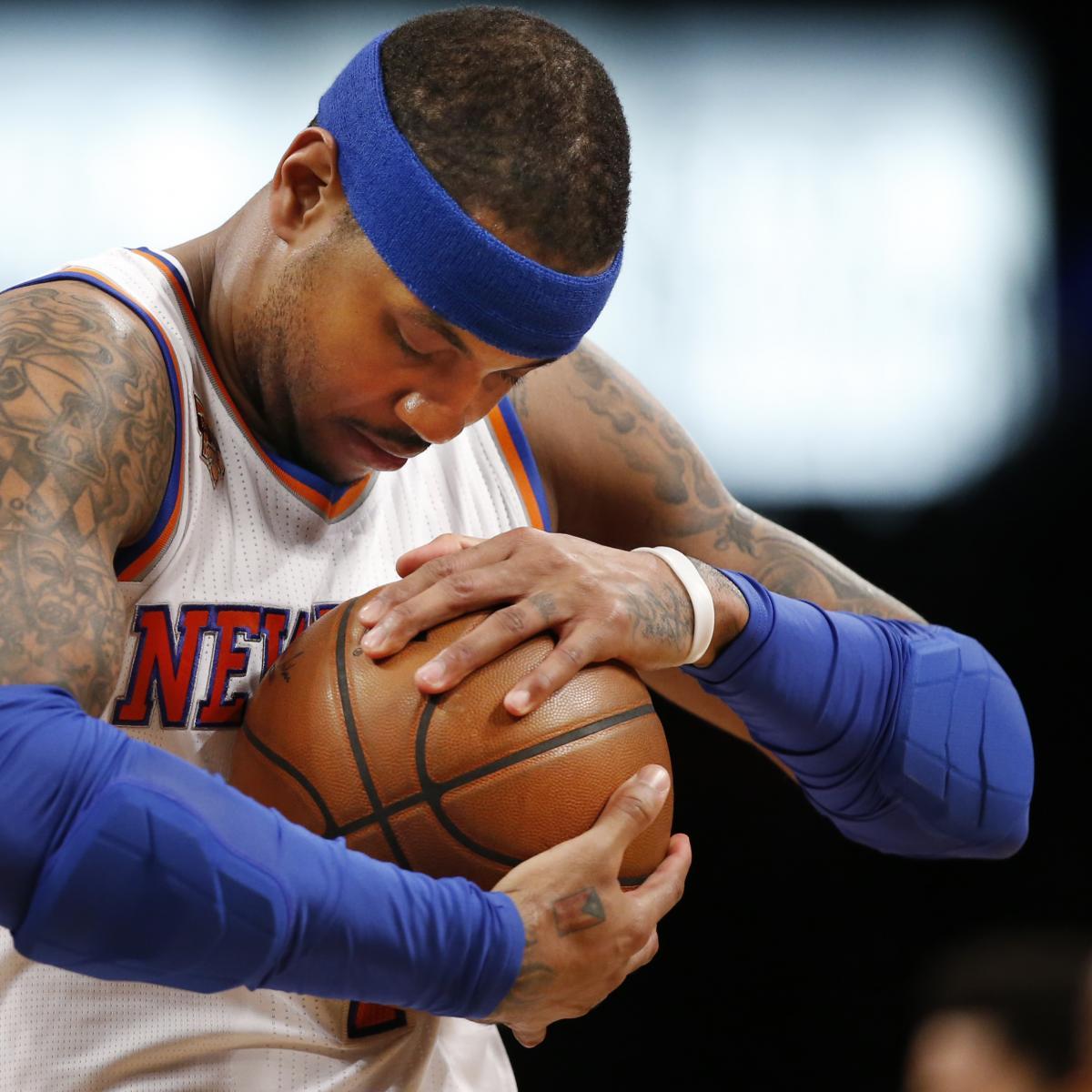 Carmelo Anthony Trade Rumors: Thunder, Knicks Star ...