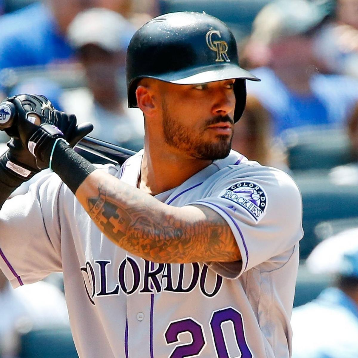 Ian Desmond Wears Replica Of Tupac 39 S Colorado Rockies