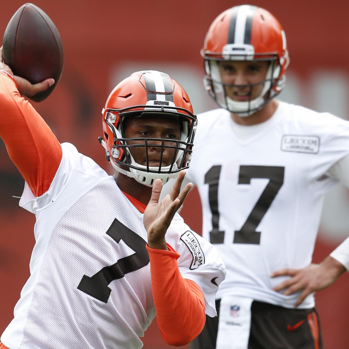 DeShone Kizer Named Browns Starting QB Over Brock Osweiler