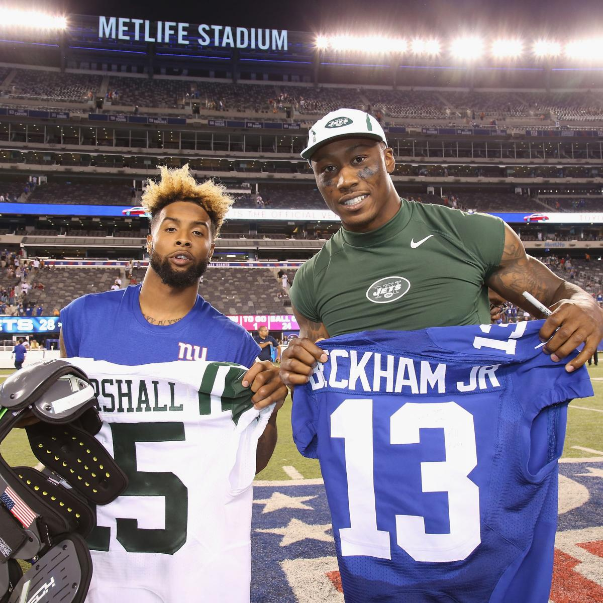 more photos 0704a a940a Brandon Marshall Says Odell Beckham Jr. 'Obviously Is the ...