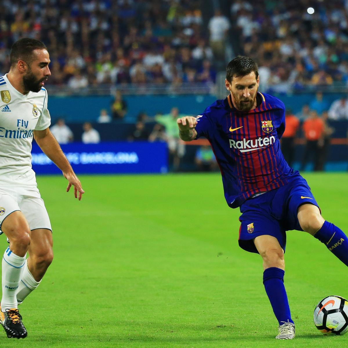 Barcelona 1 2 Real Madrid Vintage Ronaldo Silences The: Barcelona Beats Real Madrid In Cristiano Ronaldo's Absence
