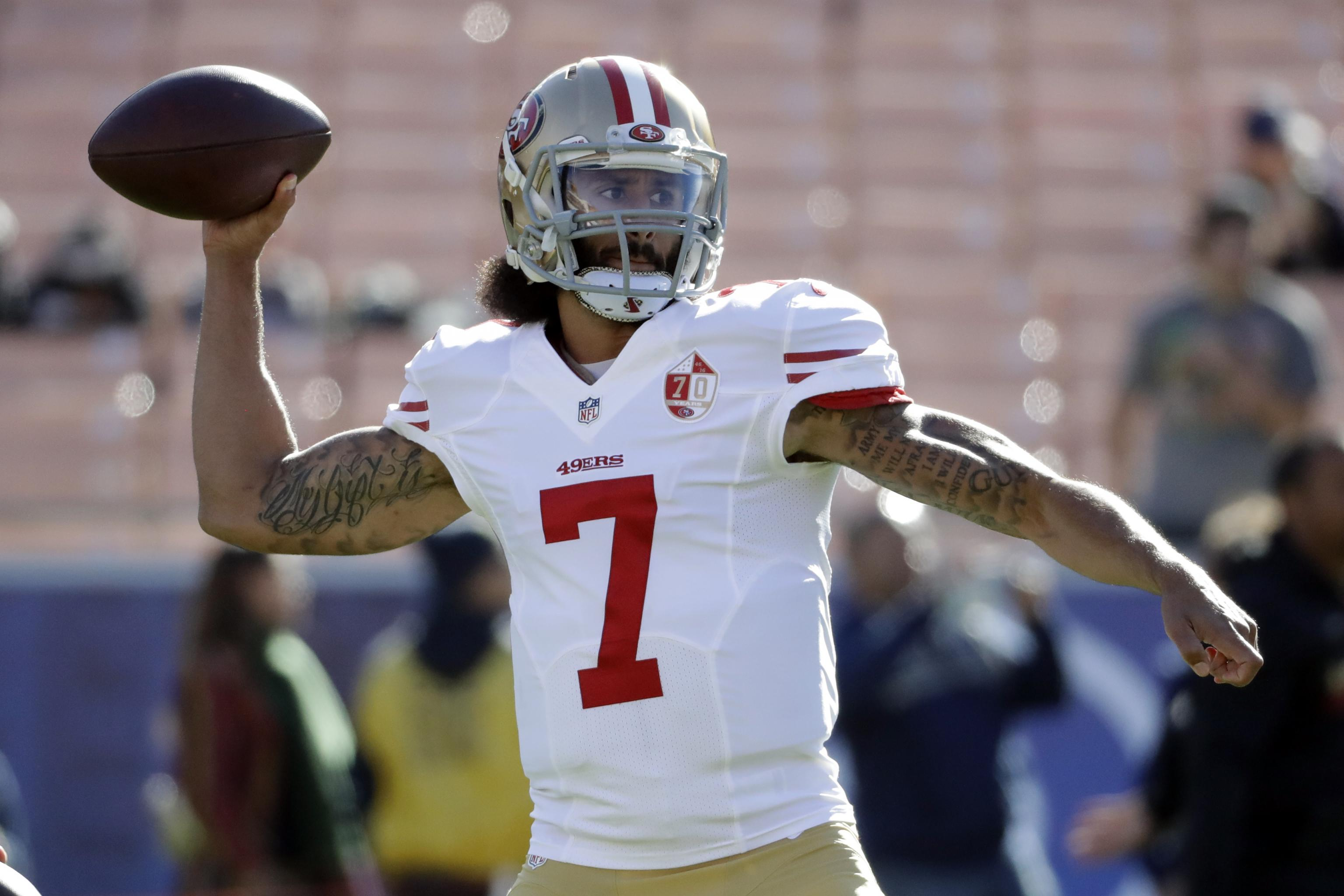 sports shoes a7f12 d43d7 Colin Kaepernick Placed 39th on NFLPA Official Merchandise ...