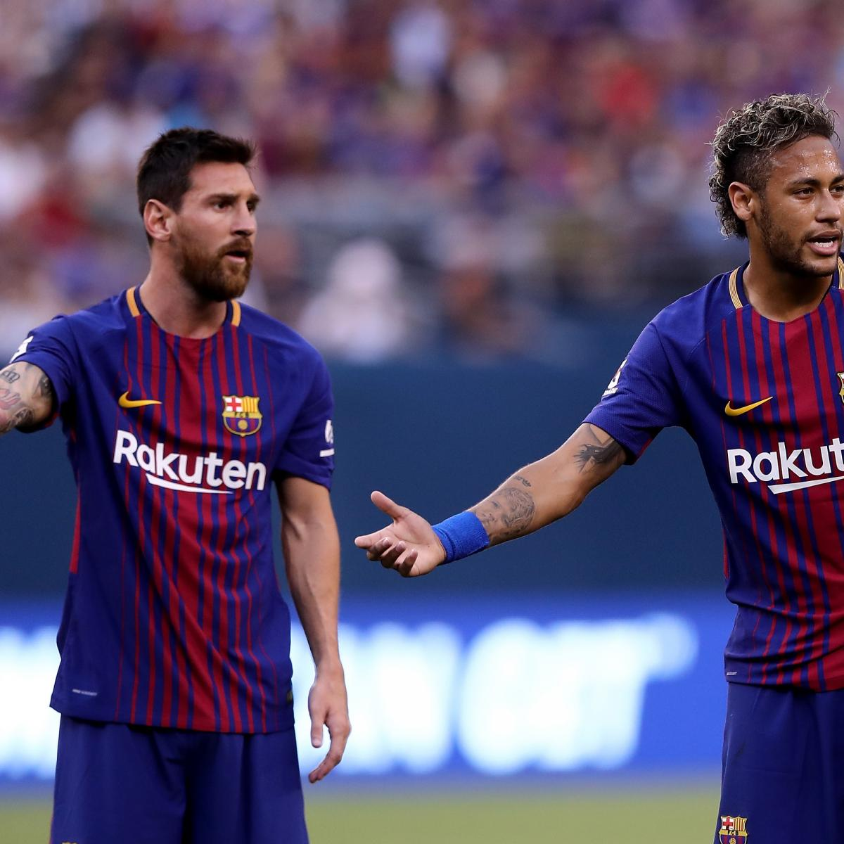 Brazilian Star Moves From Psg: Lionel Messi Posts Emotional Neymar Video Ahead Of