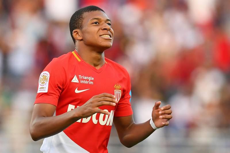 kylian mbappe in AS Monaco