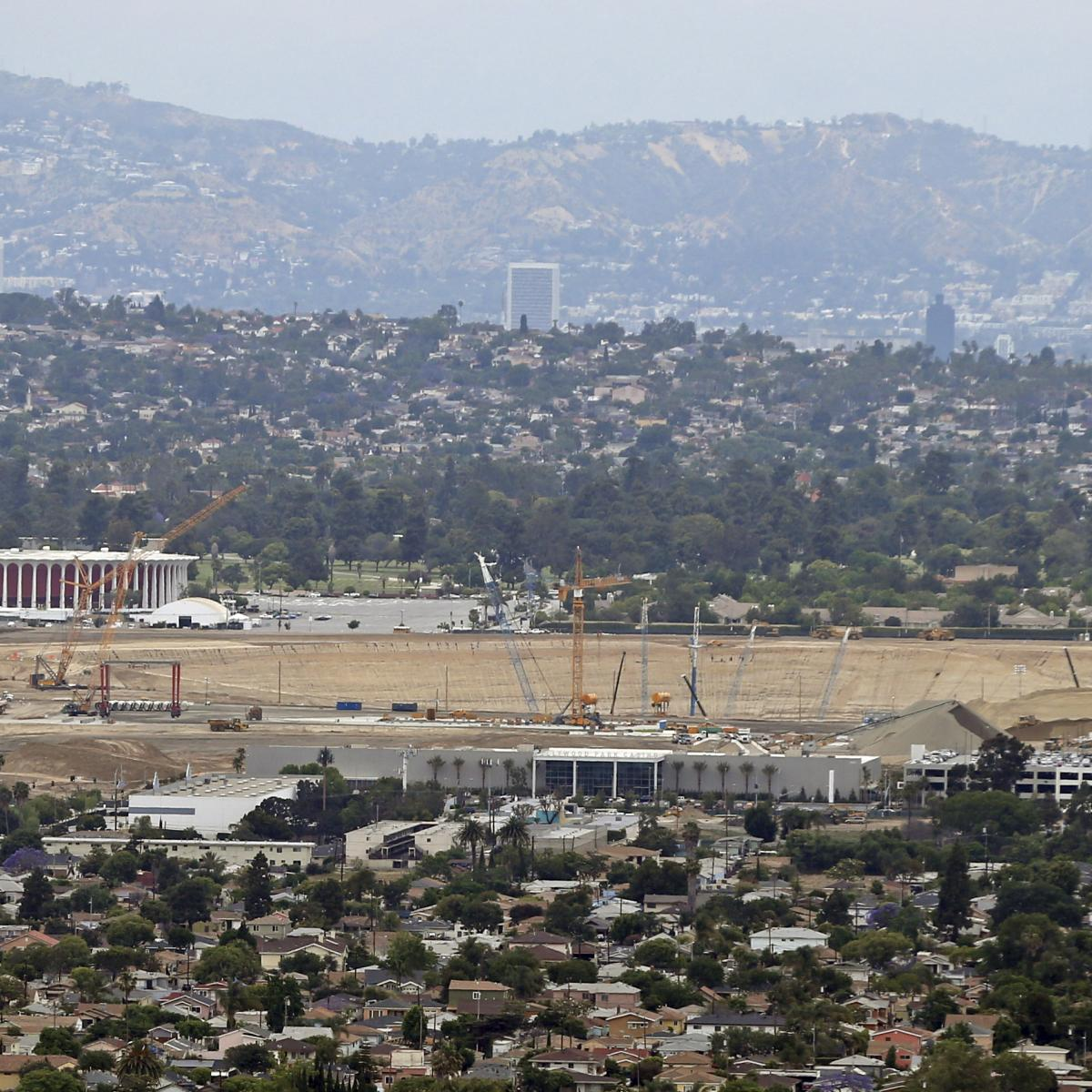 La Rams New Stadium: Rams And Chargers' Inglewood Stadium Images Released