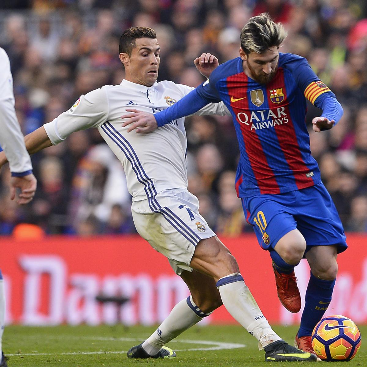 Barcelona Vs. Real Madrid: 2017 Spanish Super Cup TV