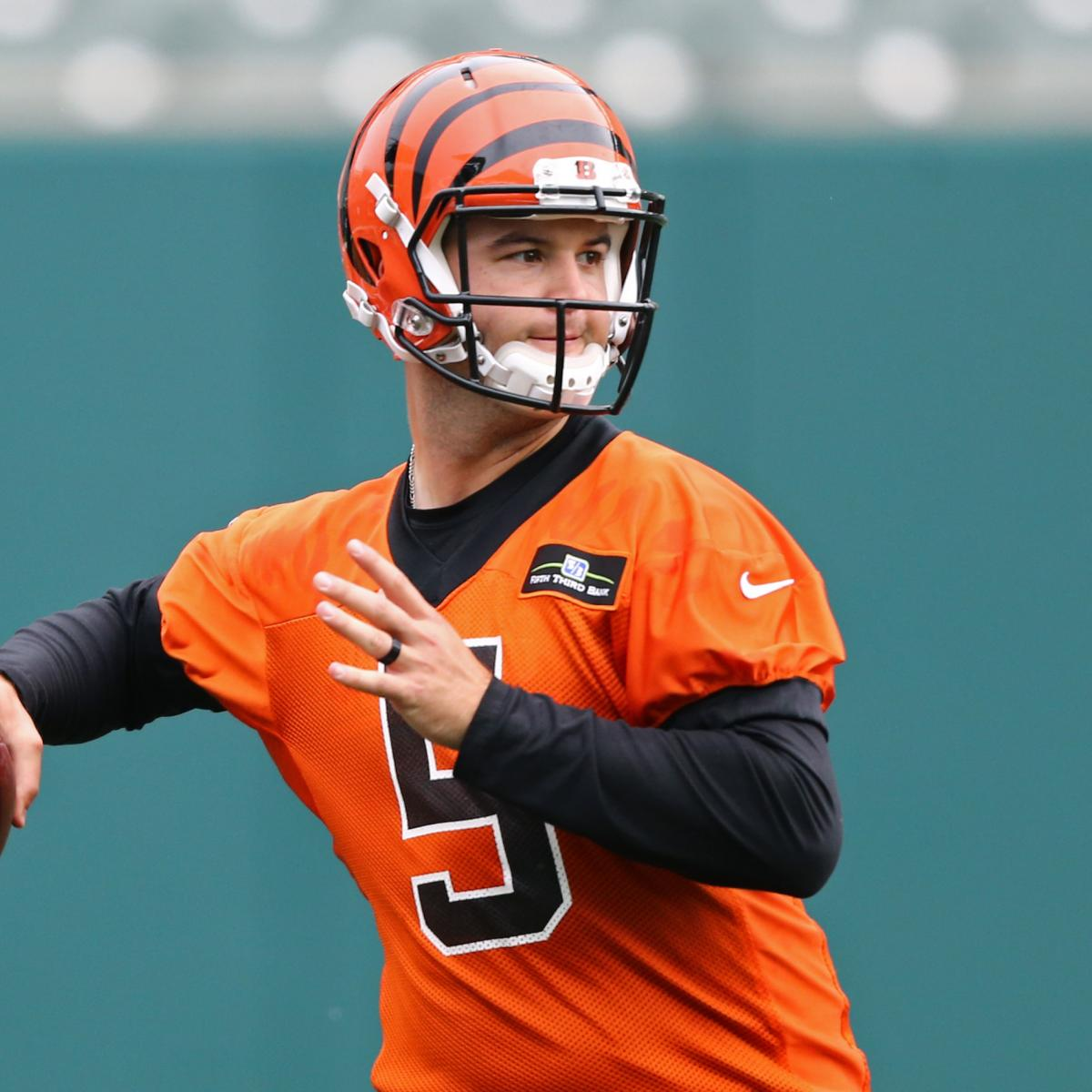 AJ McCarron Trade Rumors: Bengals Rejected 2nd-Round Pick