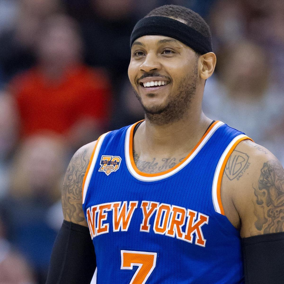 Carmelo Anthony Trade Rumors: Trail Blazers Reportedly