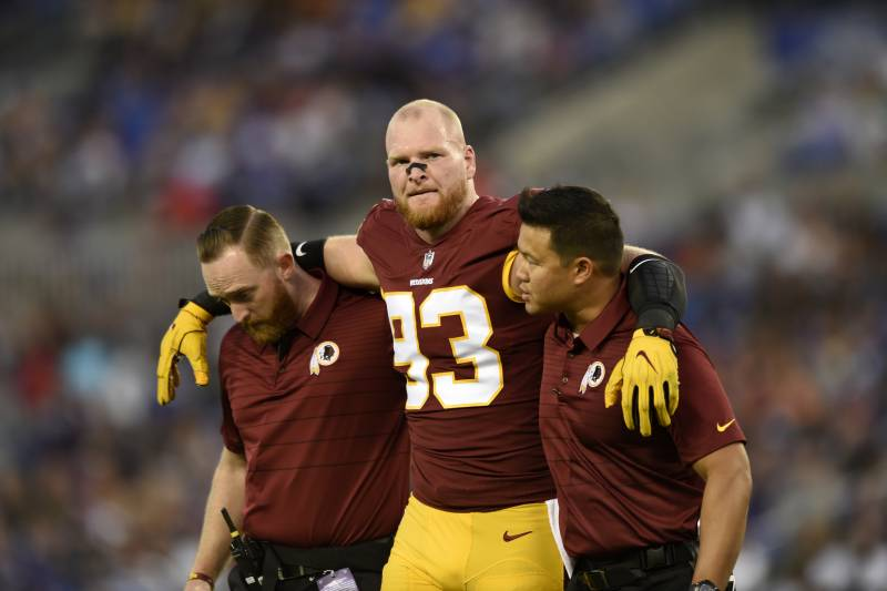 premium selection 20f45 2e2d3 Trent Murphy Reportedly out for Season with Torn ACL ...