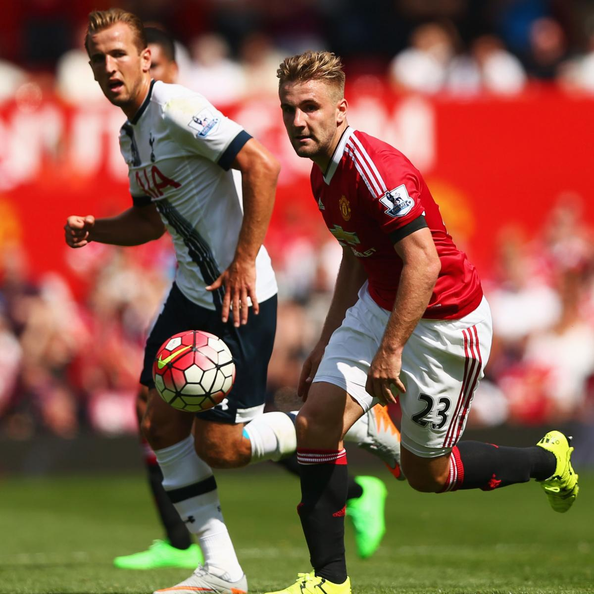 Tottenham Transfer News: Latest Rumours on Luke Shaw and Davinson Sanchez