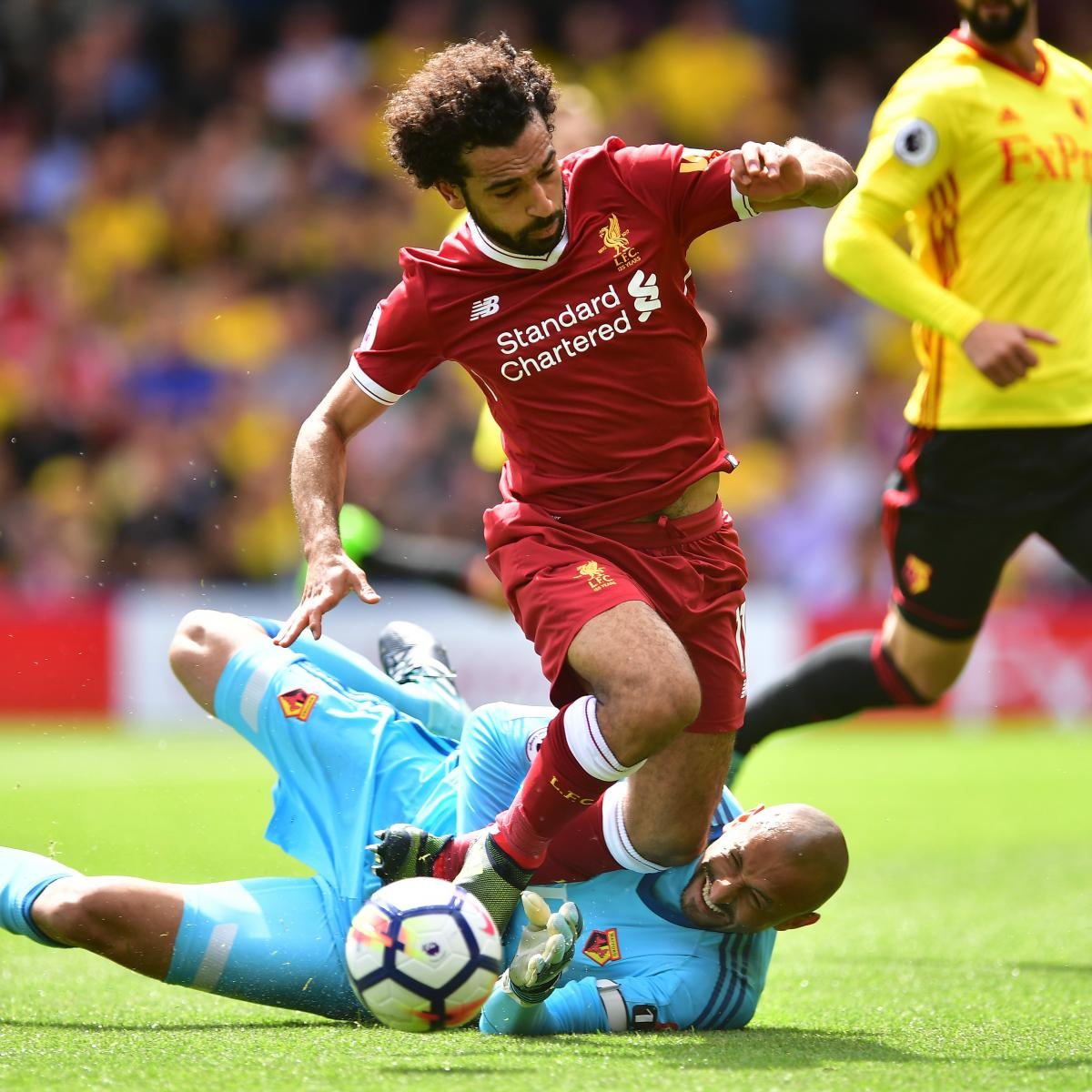 Miguel Britos Steals Draw for Watford vs. Liverpool in 2017 Premier League
