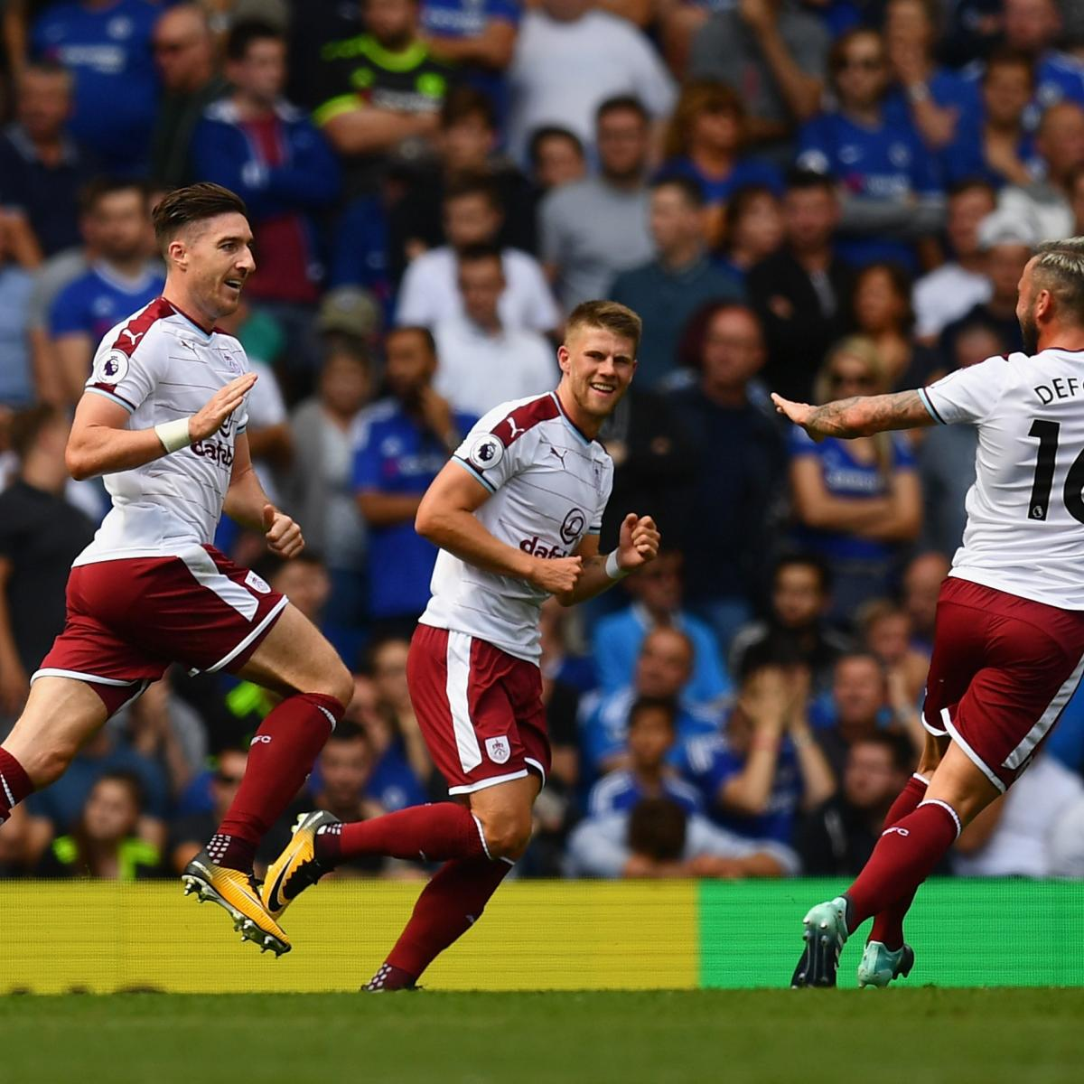 Sam Vokes, Burnley Hold off 9-Man Chelsea in Wild 3-2 Win