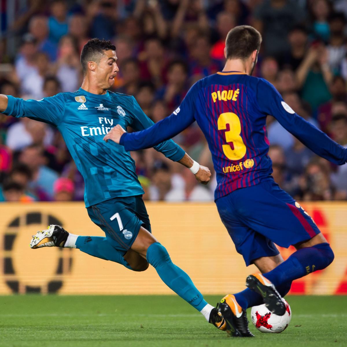 Keylor navas pays tribute to cristiano ronaldo sports mole - Cristiano Ronaldo Sent Off Real Madrid Top Barcelona In Super Cup 1st Leg Bleacher Report