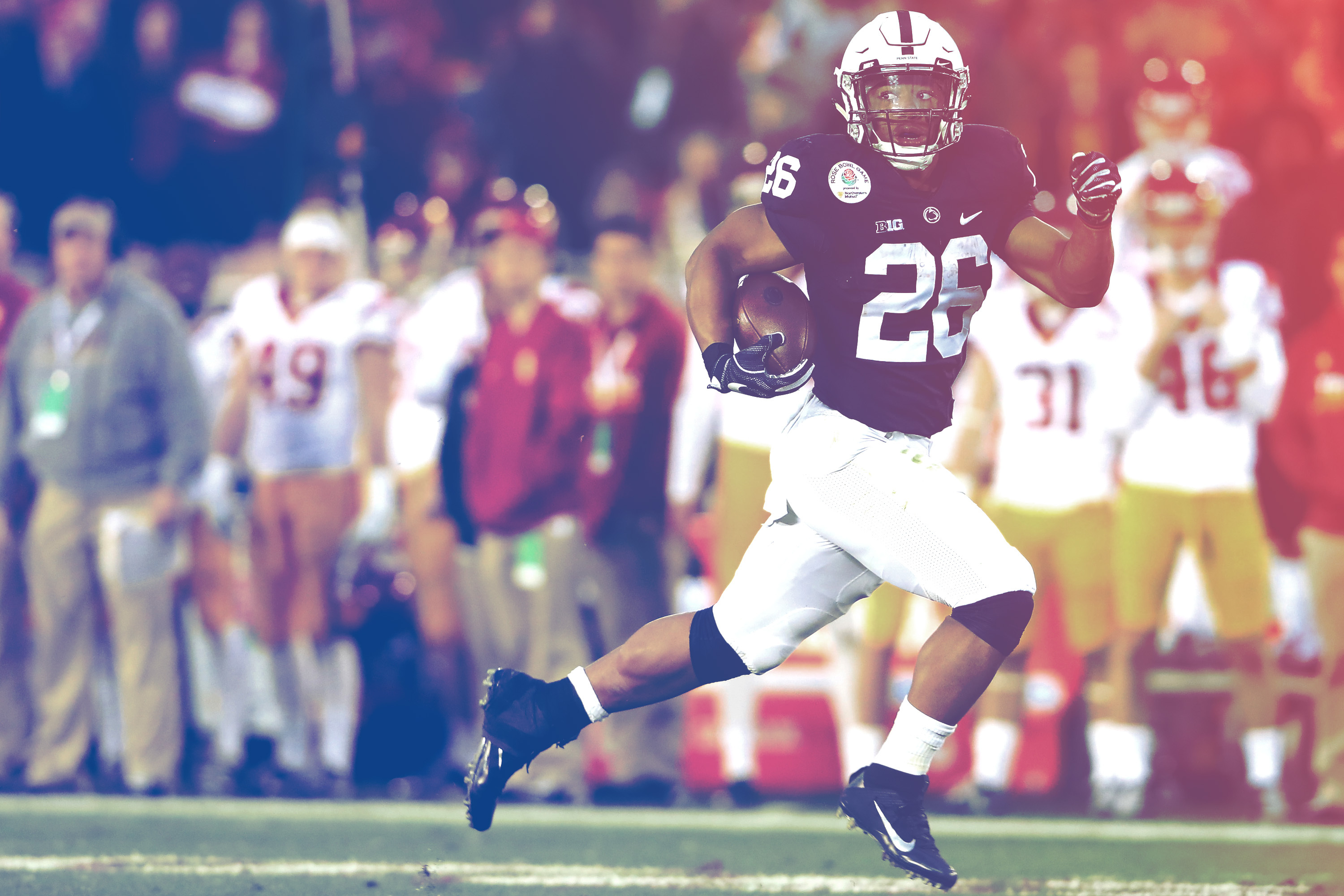 online store 157a1 88465 Saquon Barkley Is the Superstar College Football—and Penn ...