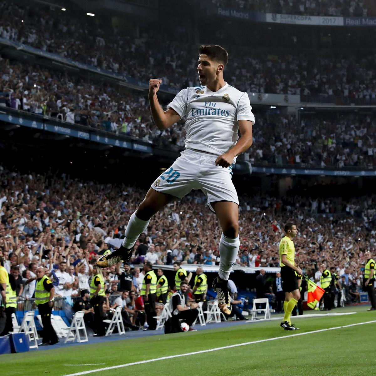 Marco Asensio, Karim Benzema Lead Real Madrid to Super Cup ...