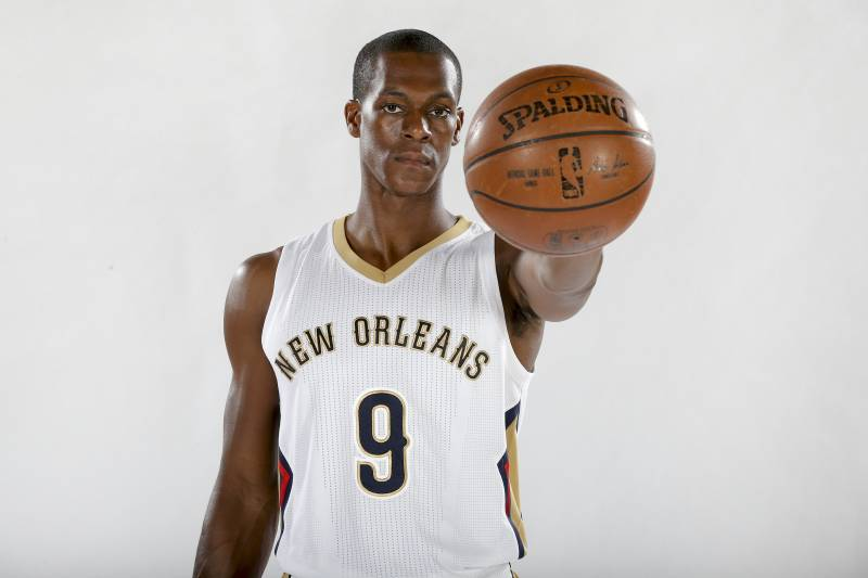 Pelicans PG Rajon Rondo Will See Specialist After Suffering Sports ... aeb47d18f