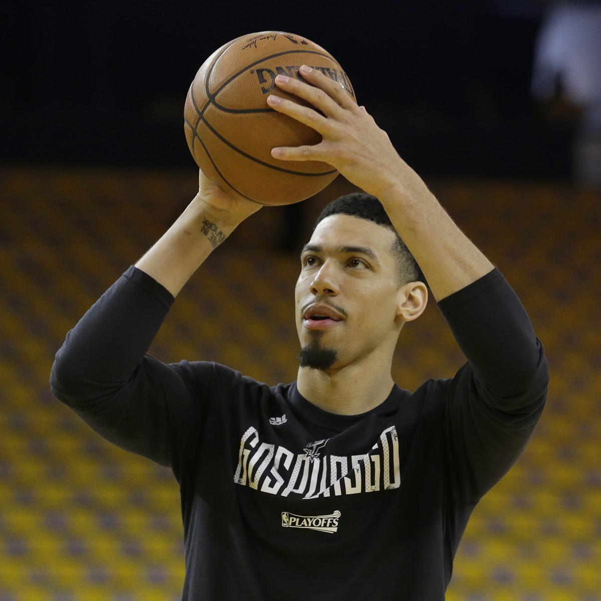 Danny Green Out vs. Bulls with Hamstring Injury | Bleacher ...