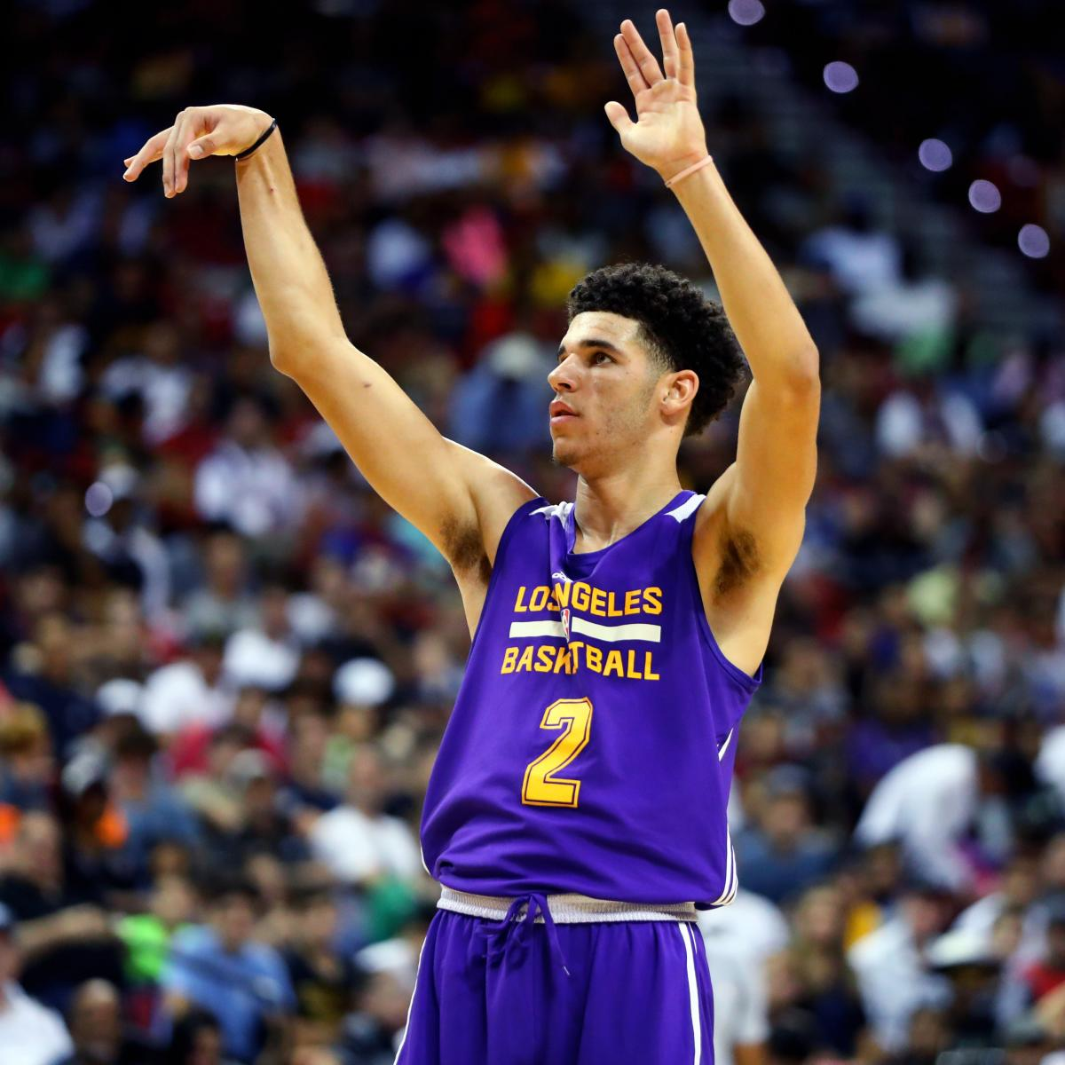 Lonzo Ball, Dennis Smith Jr. Lead Early 2018 NBA Rookie Of