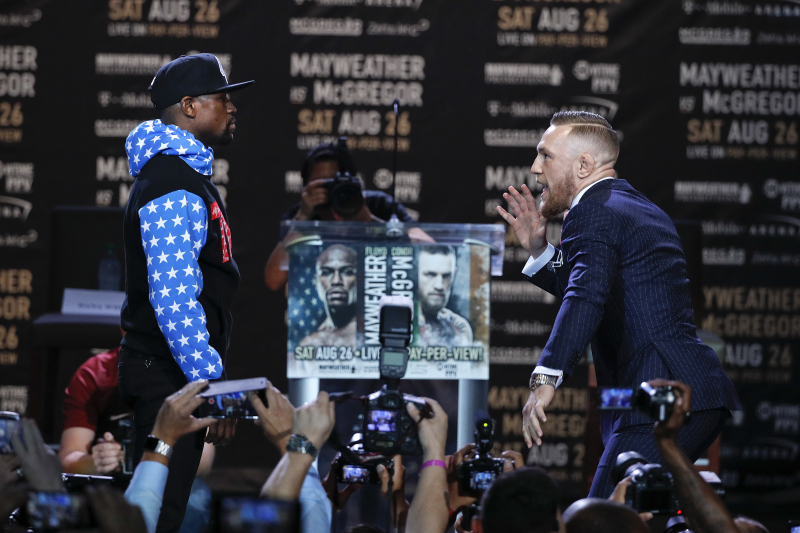 Mayweather vs. McGregor: Weigh-In Info, Fight Schedule and Predictions