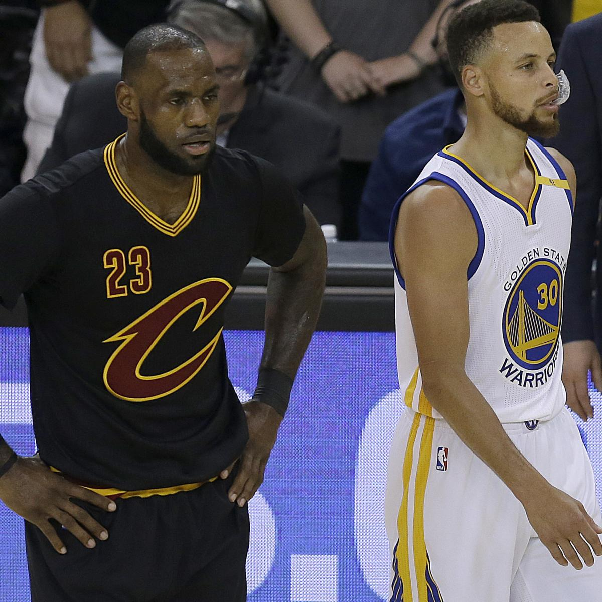 LeBron James Named Rookies' Favorite NBA Player; Stephen Curry Receives No Votes