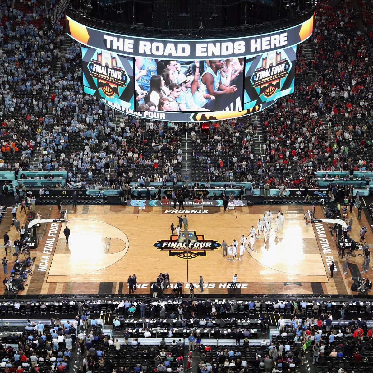 Final Four Weekend Will Feature 3-on-3 Tournament for College Seniors