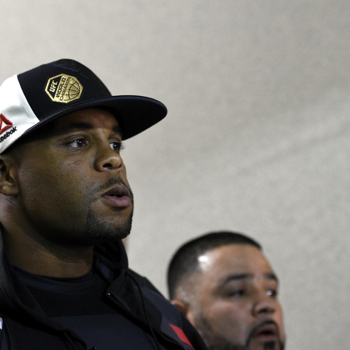 Daniel Cormier 'Very Emotional' over Jon Jones' Potential UFC 214 Drug Violation