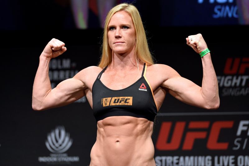 Holly Holm to UFC on Potential UFC 219 Fight vs. Cyborg: 'Let's Negotiate'