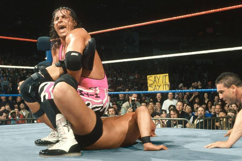 Oral History of WWE's Greatest Match: Stone Cold vs. Bret Hart at ...