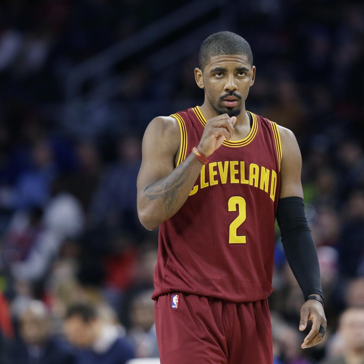 Multiple Cavaliers Players Reportedly Wanted Kyrie Irving to Stay in Cleveland