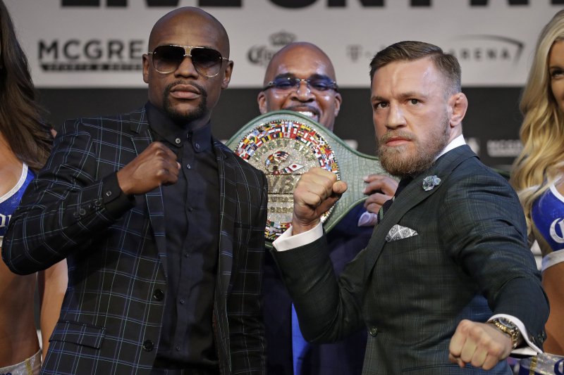 Conor McGregor and Floyd Mayweather Trade Insults in Final Presser Before Fight