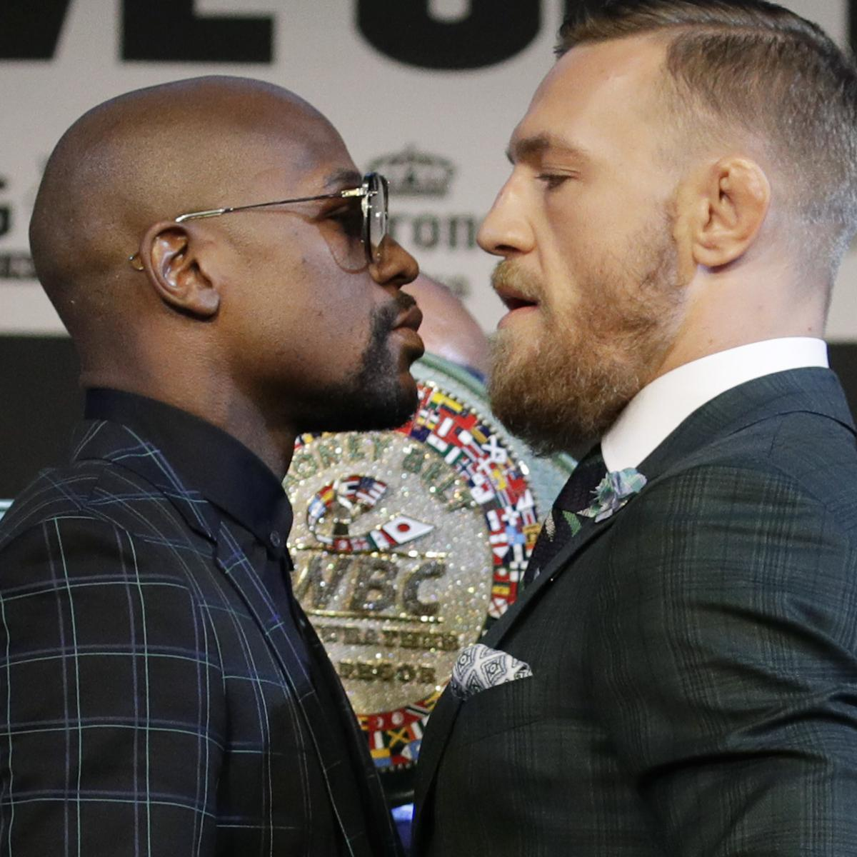 Mayweather vs. McGregor: Updated Odds, Undercard and Main Event Predictions