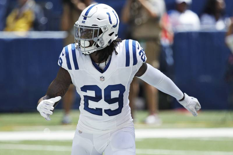 best sneakers d77aa 487e8 Report: Malik Hooker Out for the Season with Torn ACL, MCL ...