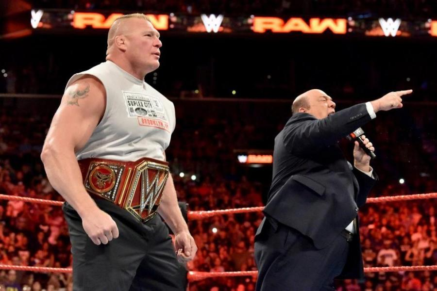 Booking Brock Lesnars Universal Championship Run Up To WWE WrestleMania 34