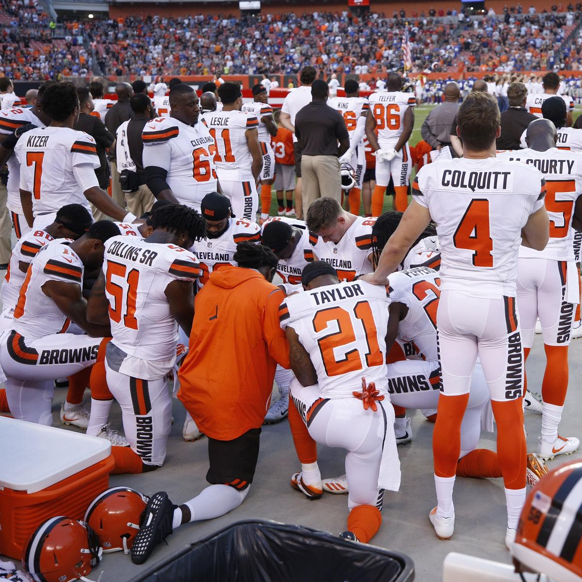 Anatomy of an NFL Protest: How and Why the Browns Got the Country Talking
