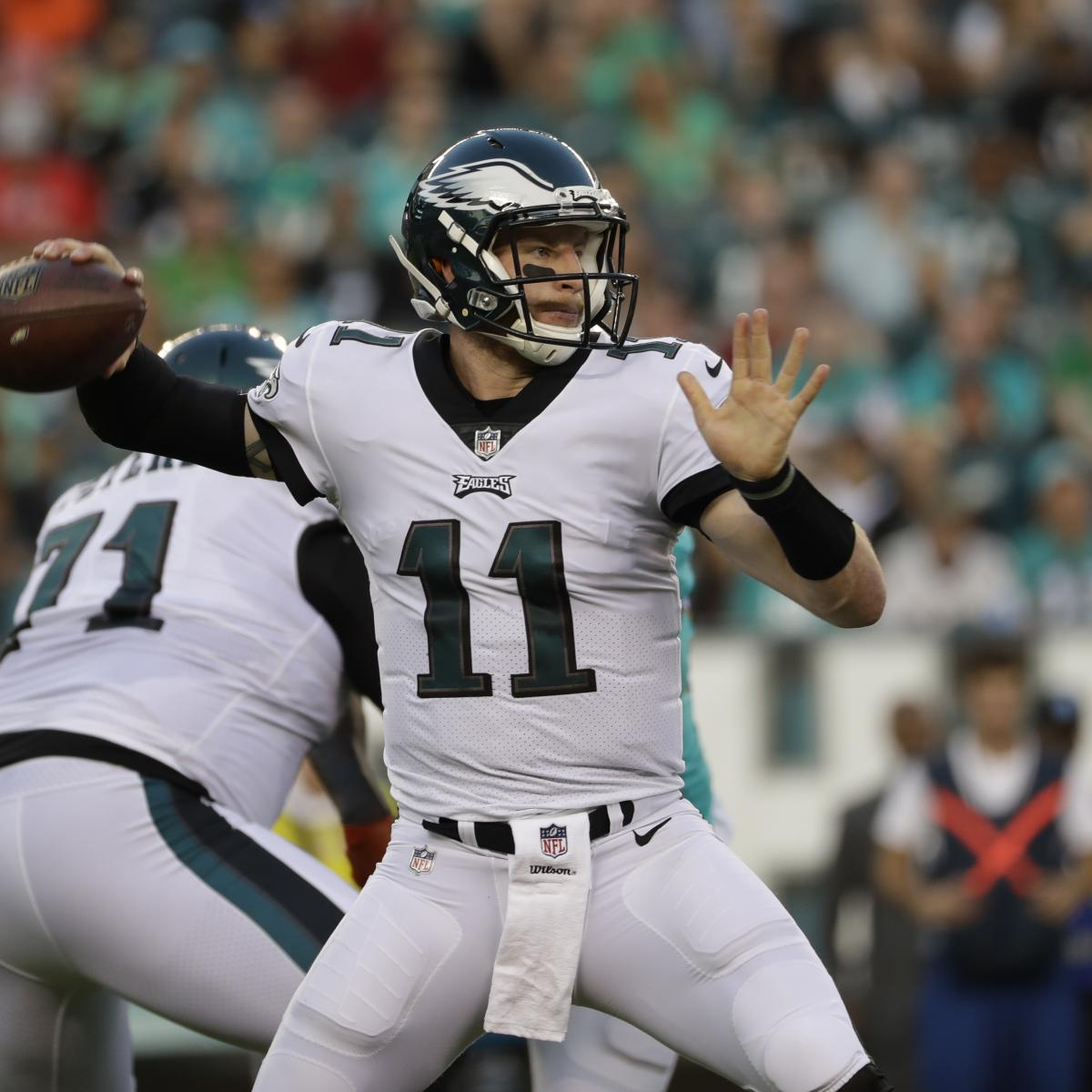 Carson Wentz's 2 TDs Put Eagles Past Dolphins; Jay Cutler ...
