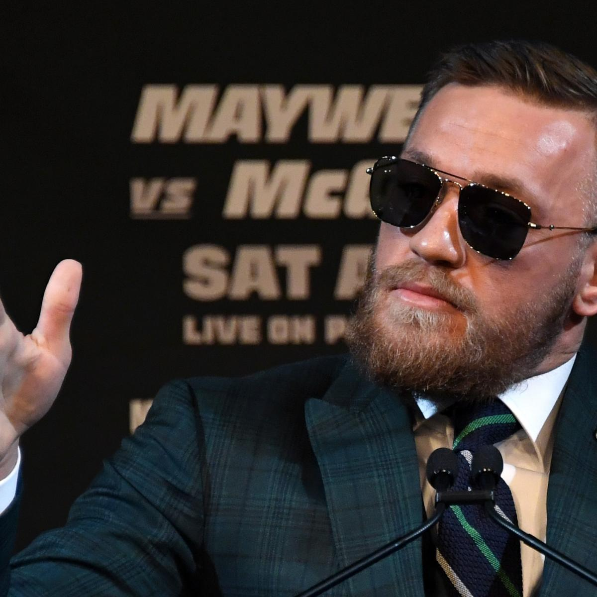 Conor McGregor's Nutritionist Says Star Will Make Weight vs. Floyd Mayweather