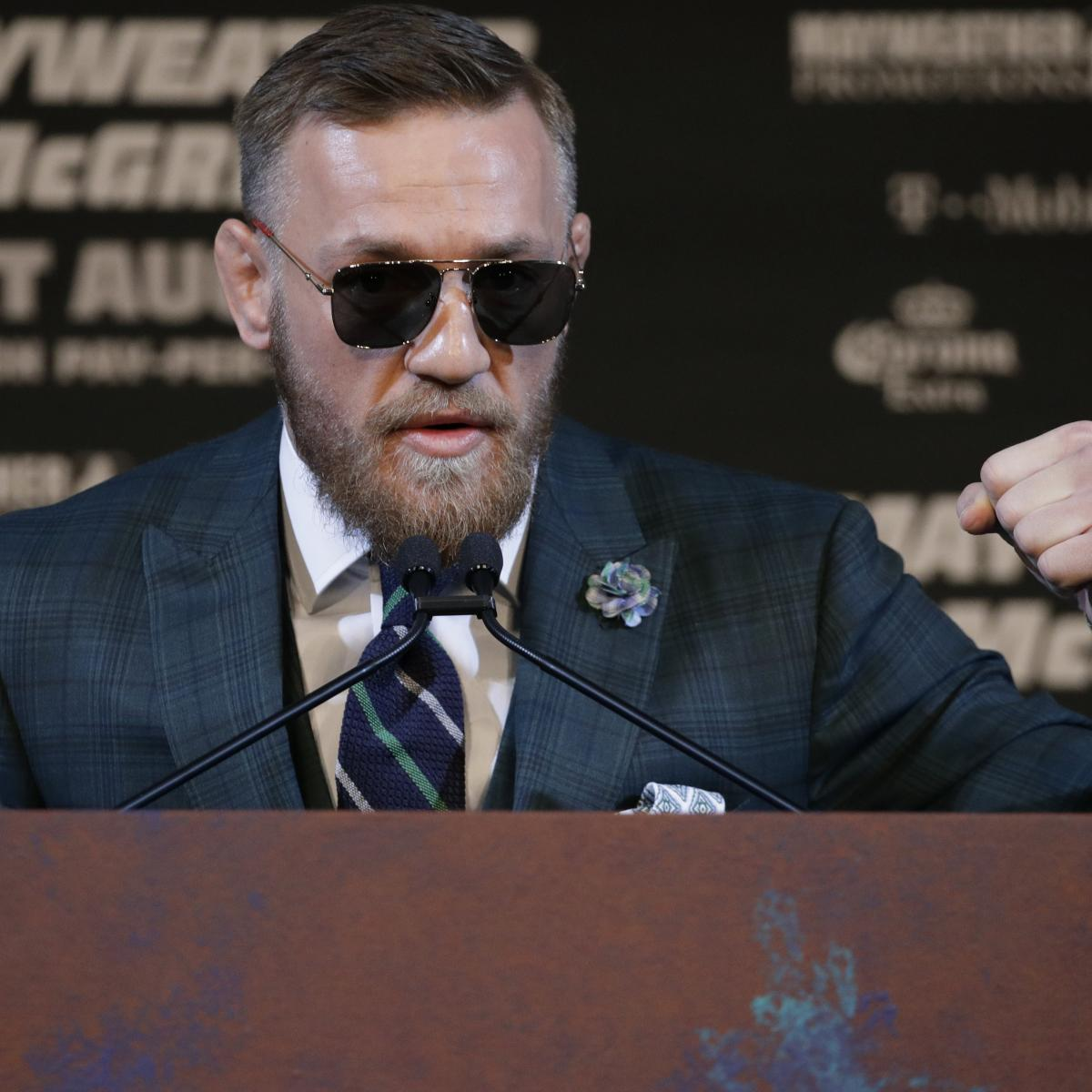 Conor McGregor Nutritionist Says He'll Have No Trouble Making Weight