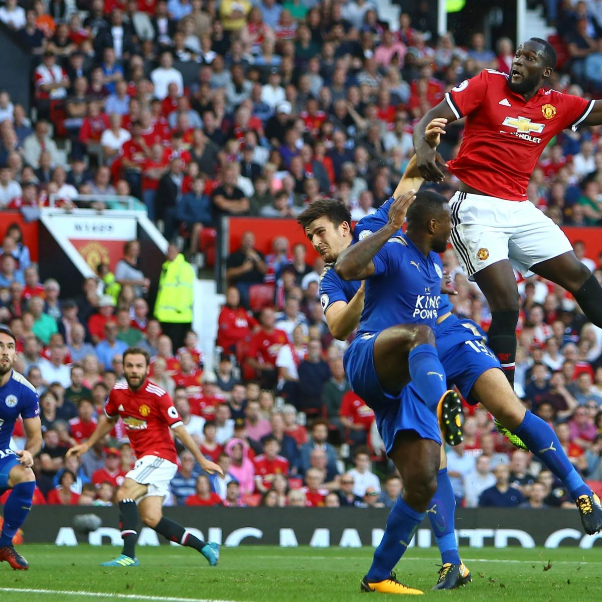Manchester United beat Leicester City - live sport