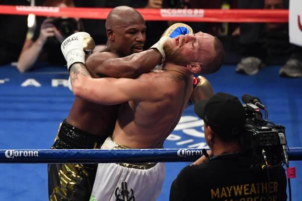 Image result for mayweather vs mcgregor fight