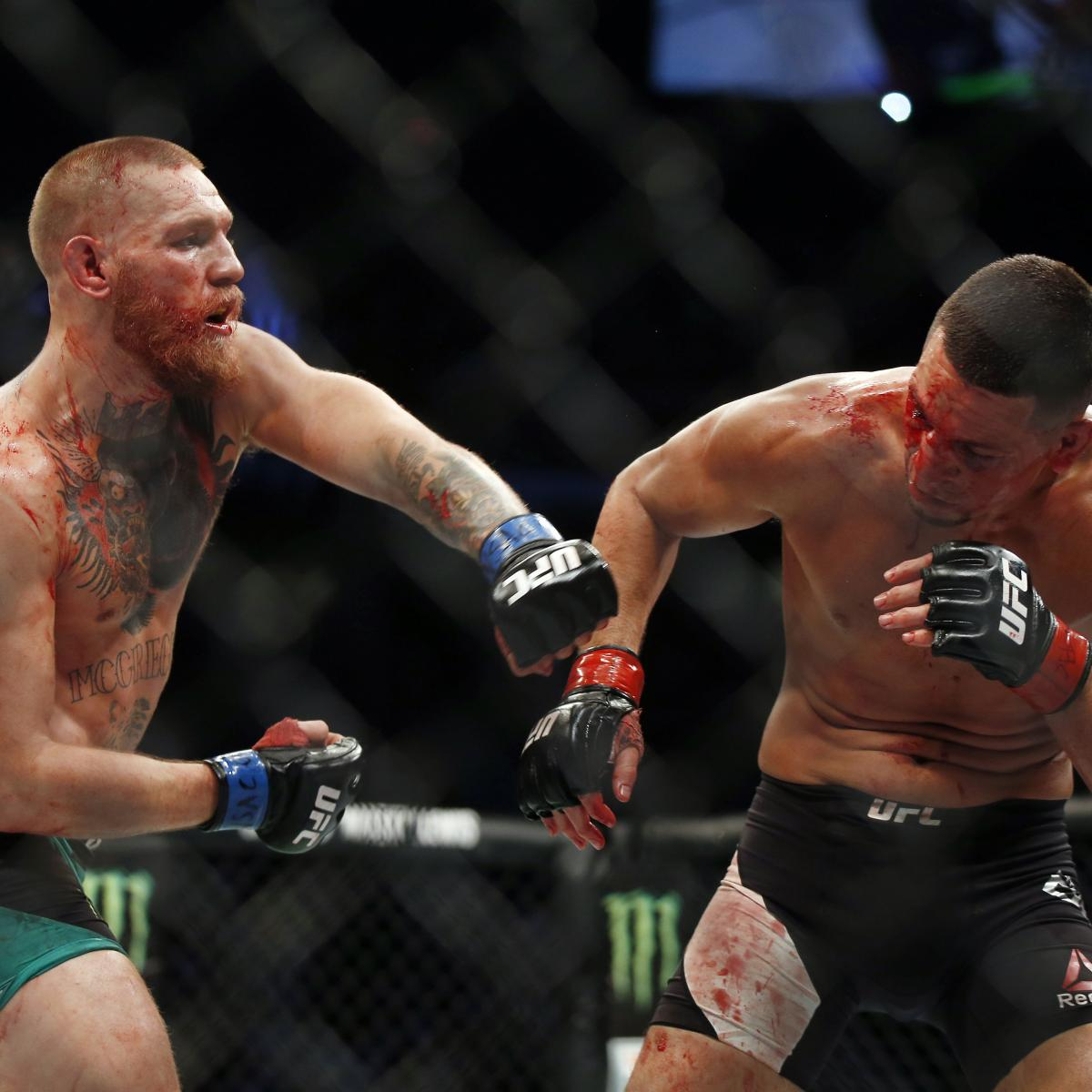 Conor McGregor Hints At Nate Diaz Trilogy Fight After