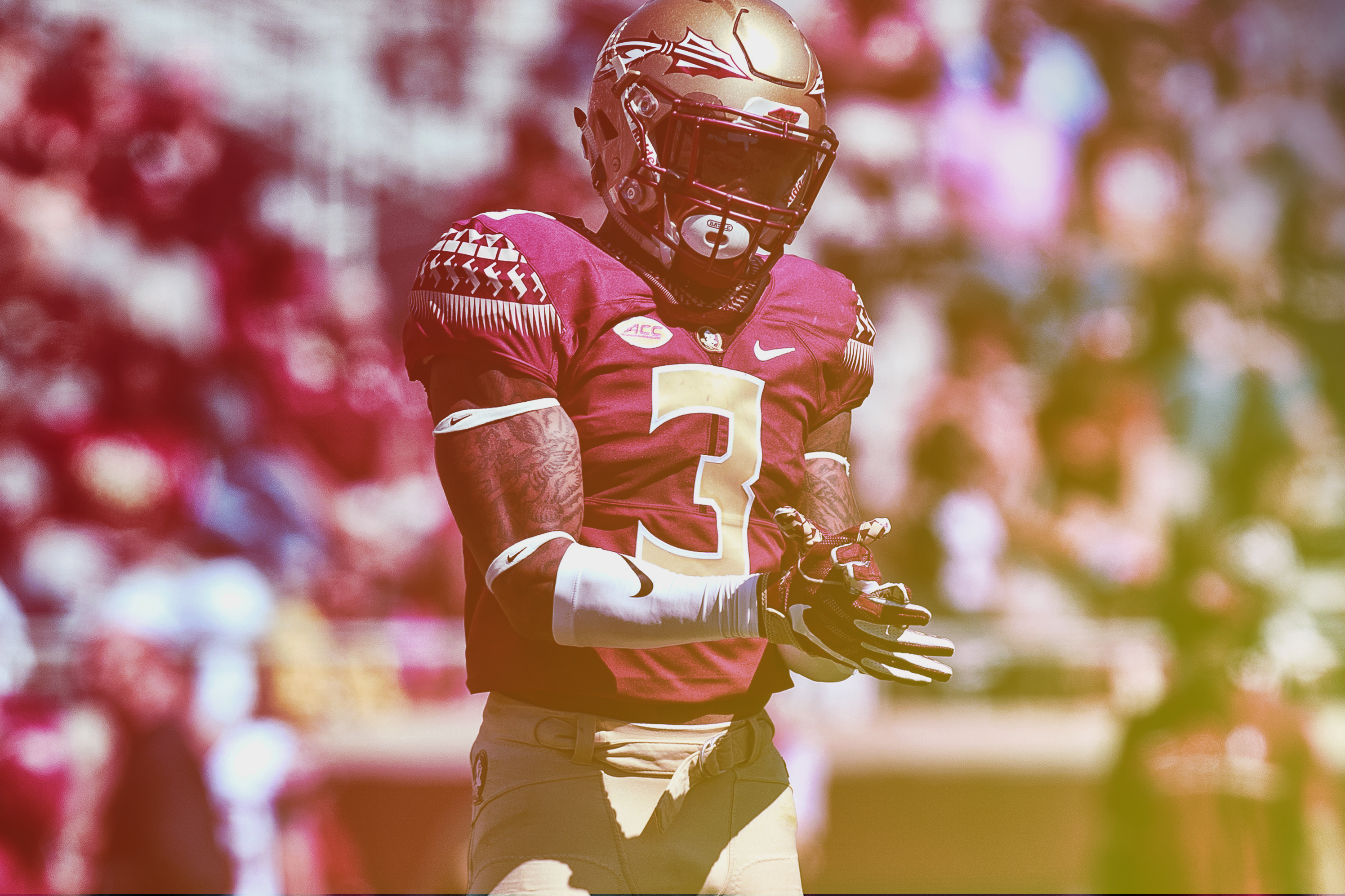 competitive price 6a3df b29d7 There's No Comparison for Him': FSU's Derwin James Is the ...