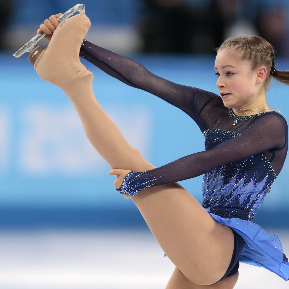 Russian Gold Medalist Figure Skater Yulia Lipnitskaya