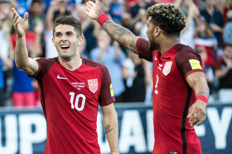 fceb2be29b5 Picking USA s 2018 World Cup Squad After Latest Qualifiers ...